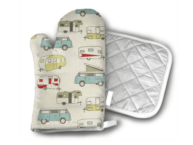 RV camper oven mitt and potholder-min