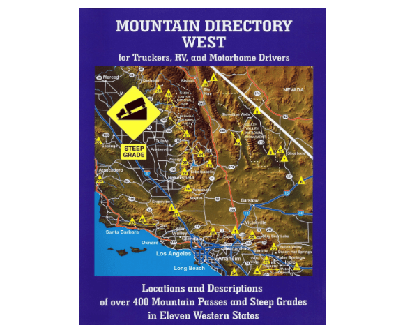 RV and Truckers Mountain Directory West-min