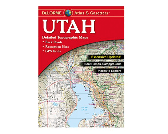 Delorme Atlas and Gazetteer Utah-min
