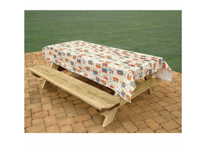 Camper picnic table tablecloth-min
