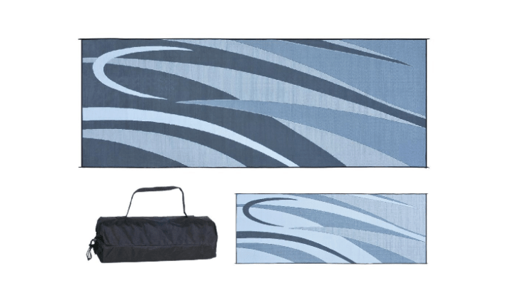 8 x 20 RV patio mat with carry bag-min