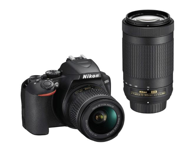 Nikon D3500 18-55 Lens and 70-300 Lens-min