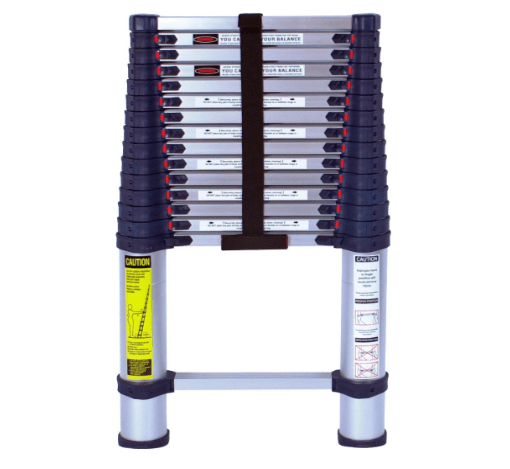 Telescoping aluminum ladder for RV-min