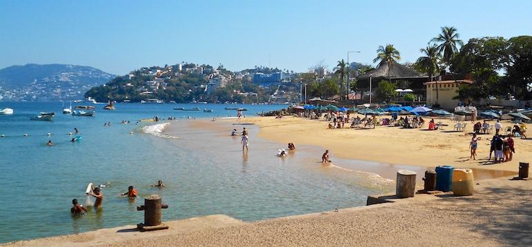 Acapulco Mexico Town Beach