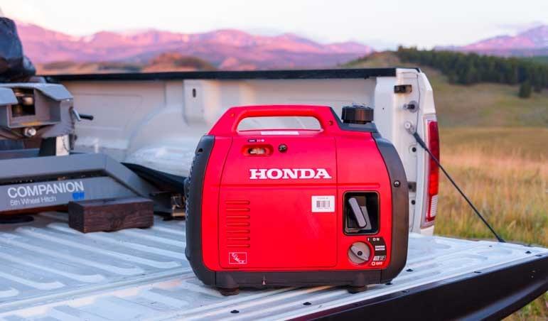 Honda EU2200i generator RV camping