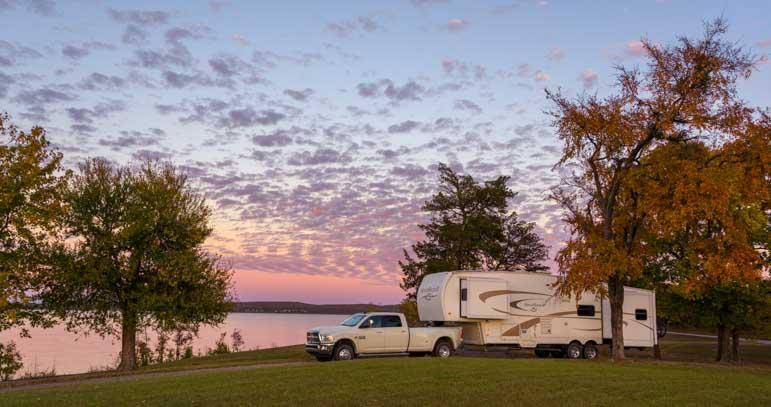 RV camping in Oklahoma-min