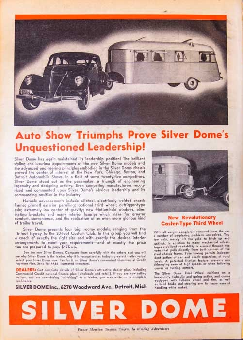 Trailer Life Magazine page from 1937-min
