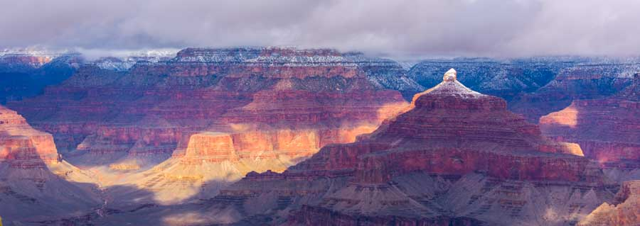 Grand Canyon National Park stormy sky-min