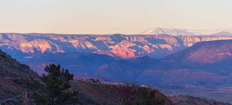 Red rocks of Sedona Arizona-min