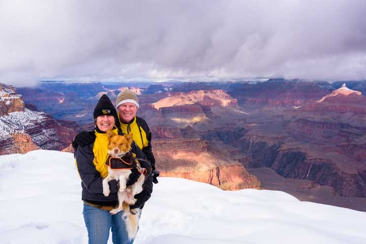 Happy campers at Grand Canyon National Park-min