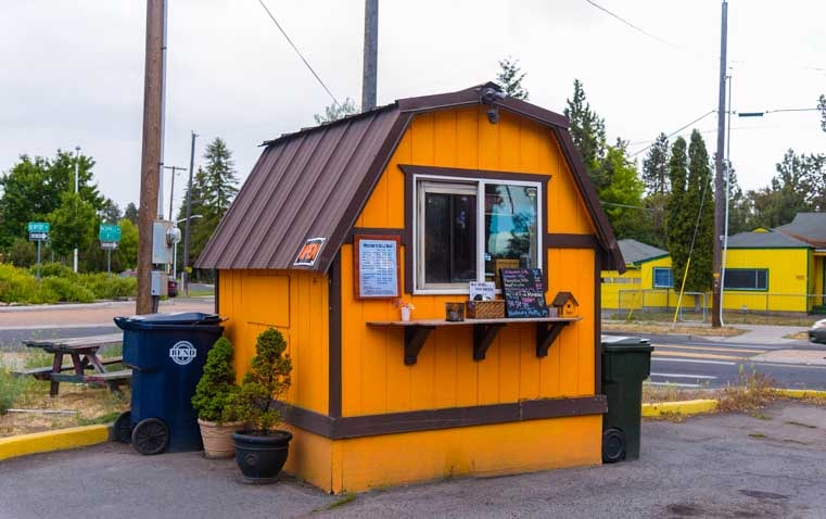 de la Bean Coffee Shack Bend Oregon-min