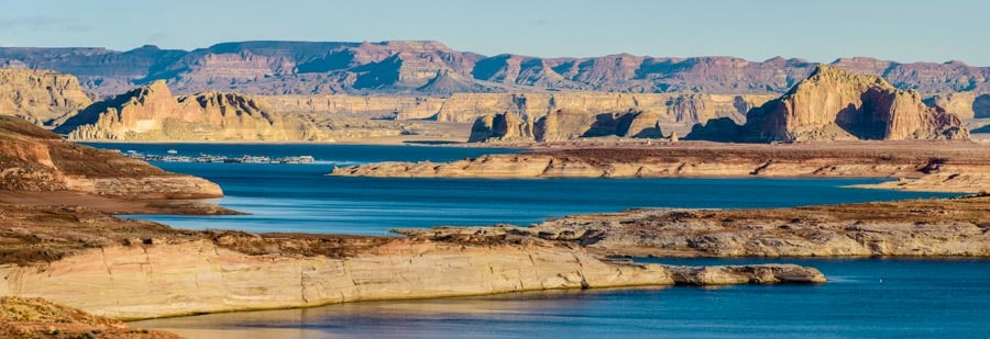 Glen Canyon and the Colorado River in Arizona-min