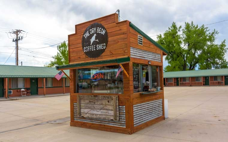 Dry Bean Coffee Shed Ranchester Wyoming-min