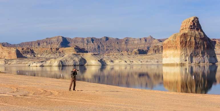 Photography at Glen Canyon Arizona-min