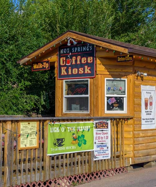 Coffee Kiosk Hot Springs South Dakota-min