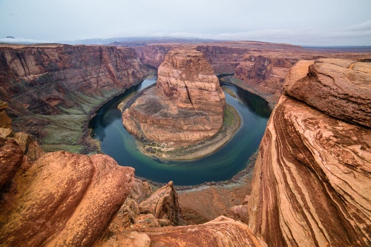 Horseshoe Bend Arizona Colorado RIver-min