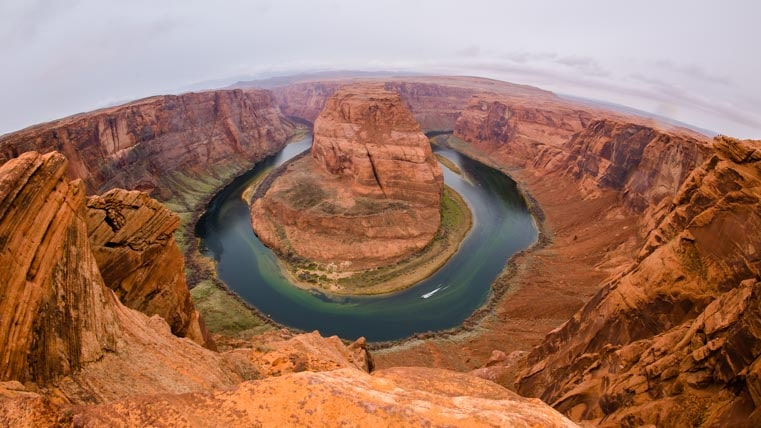 Horseshoe Bend Arizona fisheye lens-min