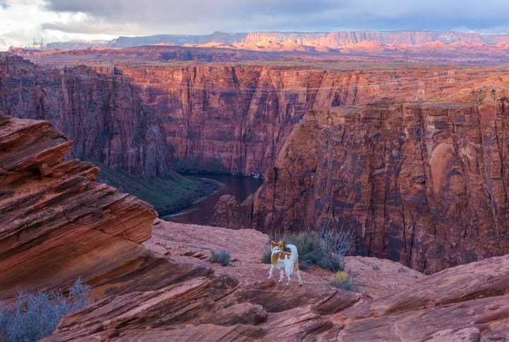 Glen Canyon Dam Overlook Page Arizona-min
