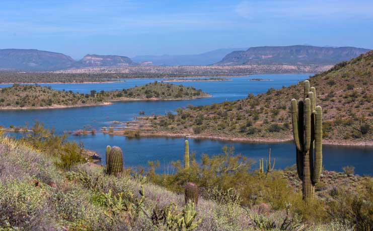 Lake Pleasant Regional Park Arizona-min