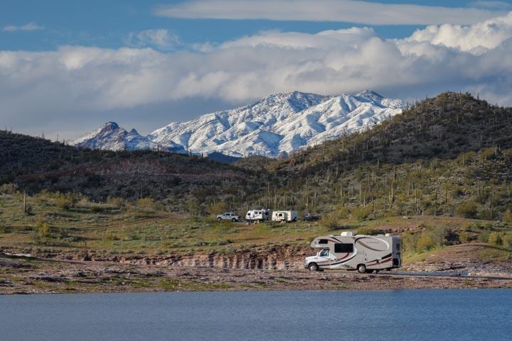 Lake Pleasant RV Campgrounds Arizona-min