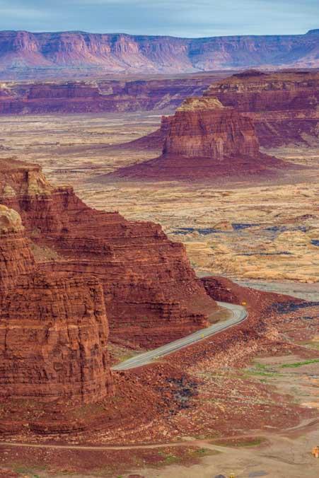 Hite Overlook Glen Canyon Recreation Area Lake Powell Utah-min