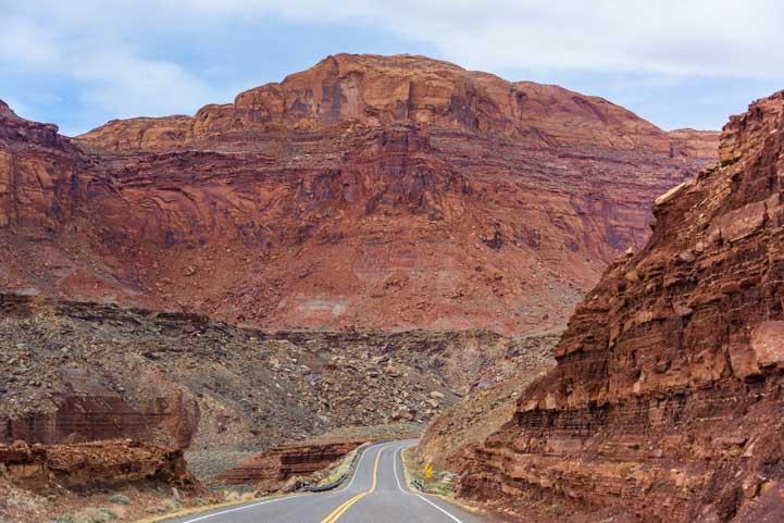 Views on the Bicentennial Highway Utah RV trip-min