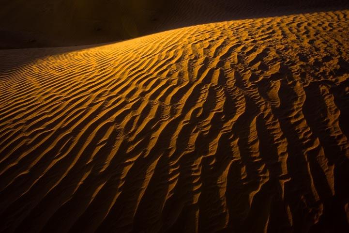 Sand dunes in Utah-min