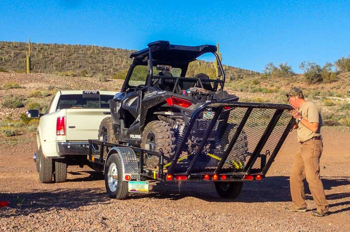 Close trailer ramp door for Polaris RZR 900 XC EPS Edition-min