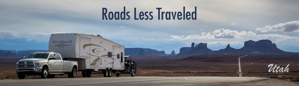 RV Trip to Monument Valley in Utah and Lake Powell Hite Scenic Overlook