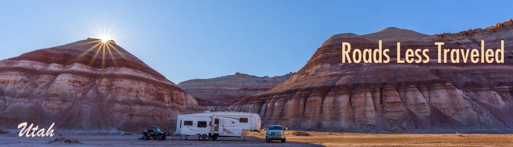 Utah RV trip and camping travel adventures
