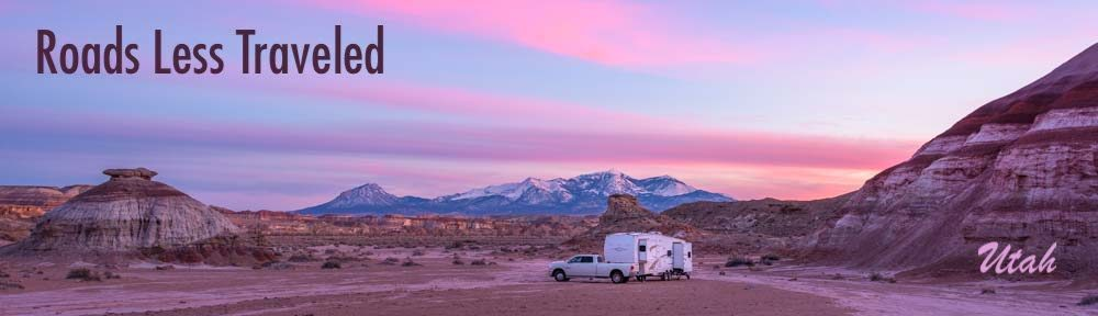 Utah RV trips camping adventures and travel