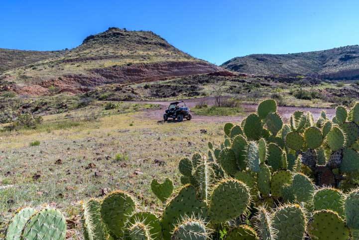RZR on Black Hills Back Country Byway Arizona-min