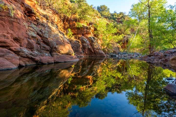 Reflections at Sediba Arizona-min