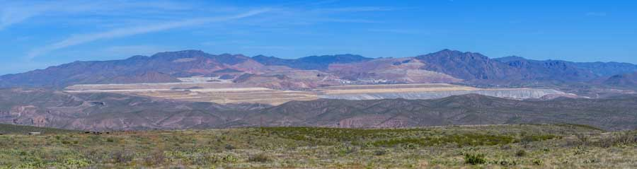 Phelps Dodge copper mine in Clifton-Morenci Arizona-min