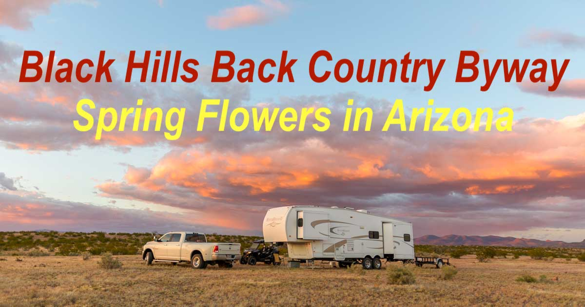 RV Camping in eastern Arizona