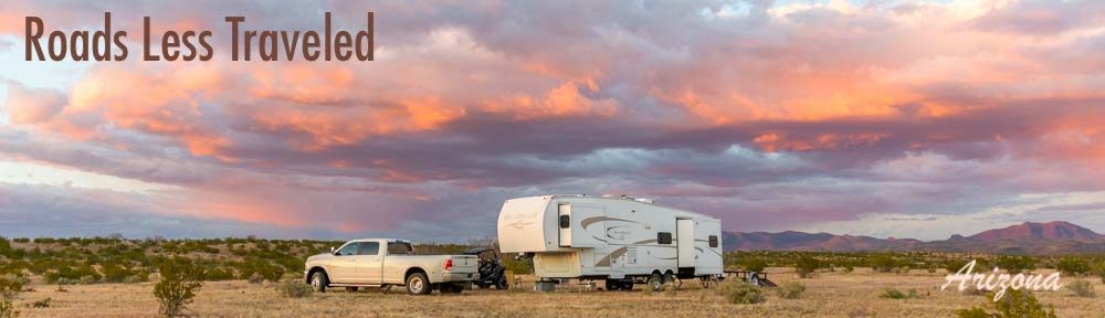 Arizona RV travel plus camping trips