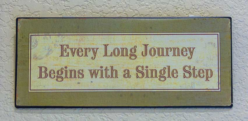 Every Long Journey Begins with a Single Step-min