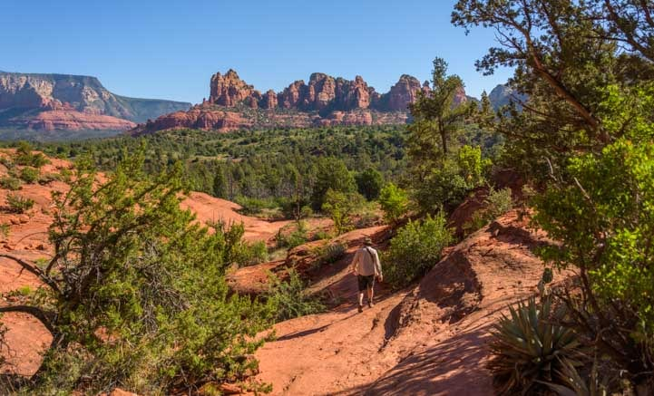 Hike Broken Arrow Trail Sedona Arizona-min