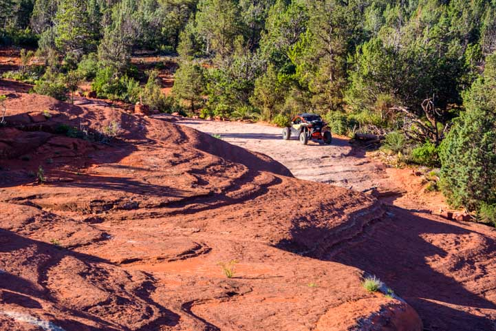 UTV on Broken Arrow Trail Sedona Arizona Views-min