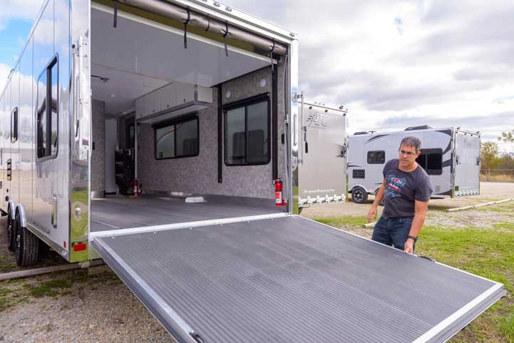 ATC Toyhauler fifth wheel trailer-min