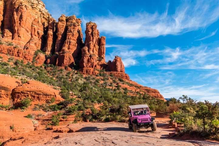 Pink Jeep Tour Broken Arrow Sedona Arizona-min