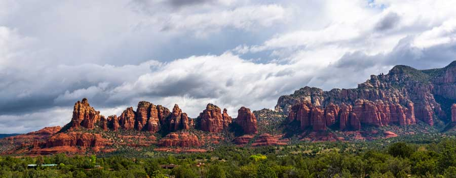 Sedona Arizona red rock view-min
