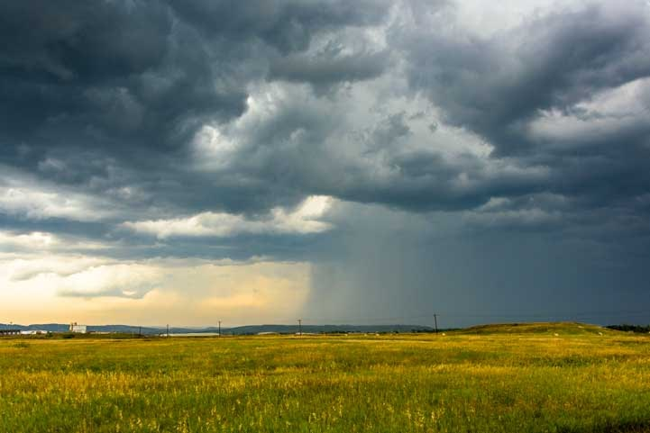 Wild storm sky South Dakota-min