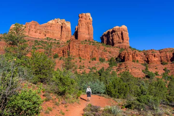 Templeton Trail Hike to Cathedral Rock in Sedona Arizona-min