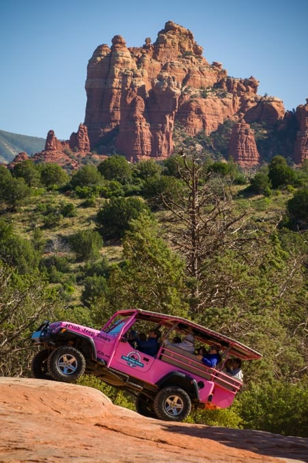 Pink Jeep Tour Sedona Arizona-min