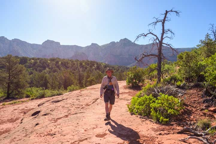 In the Light Broken Arrow Trail Sedona Arizona-min
