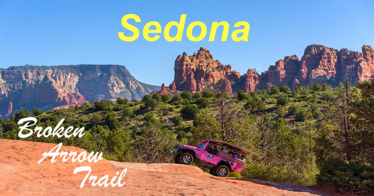 Broken Arrow Trail Hike and Jeep tour in Sedona Arizona-min