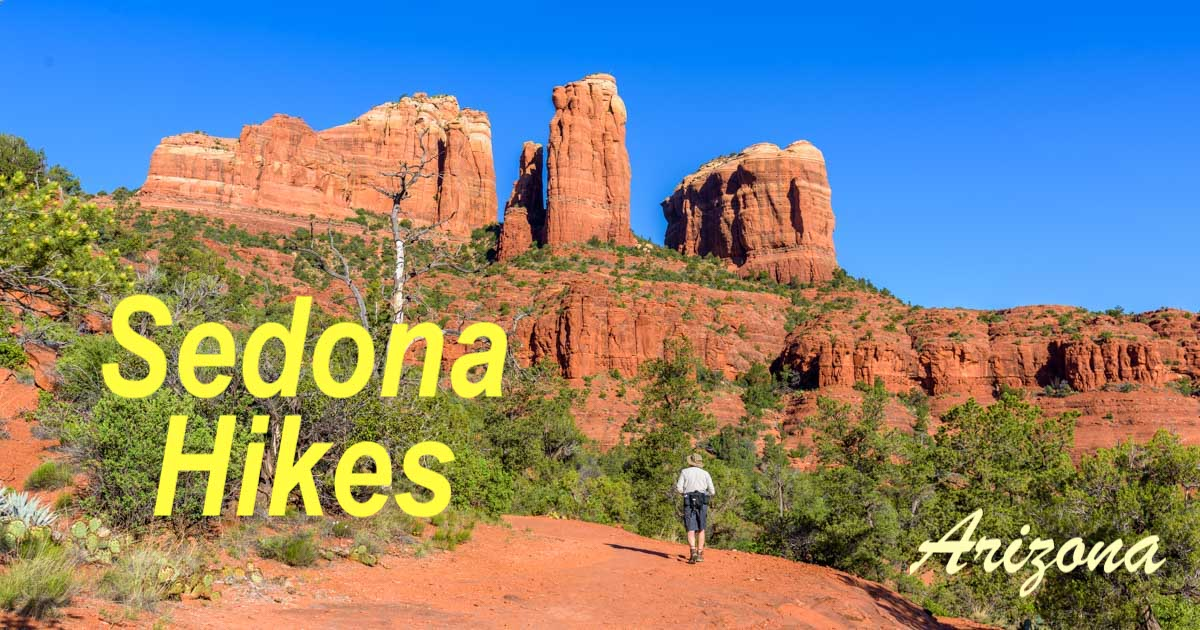 Best Sedona Arizona Hikes Little Horse Trail Cathedral Rock Trail-min