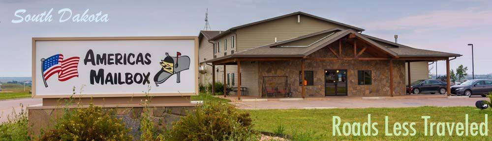 Americas Mailbox Mail Forwarding for full-time RV travelers in Box Elder South Dakota
