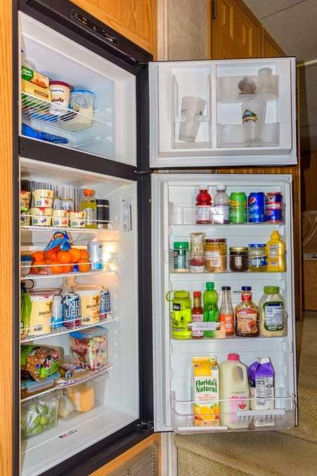 RV refrigerator 8 cubic foot size-min